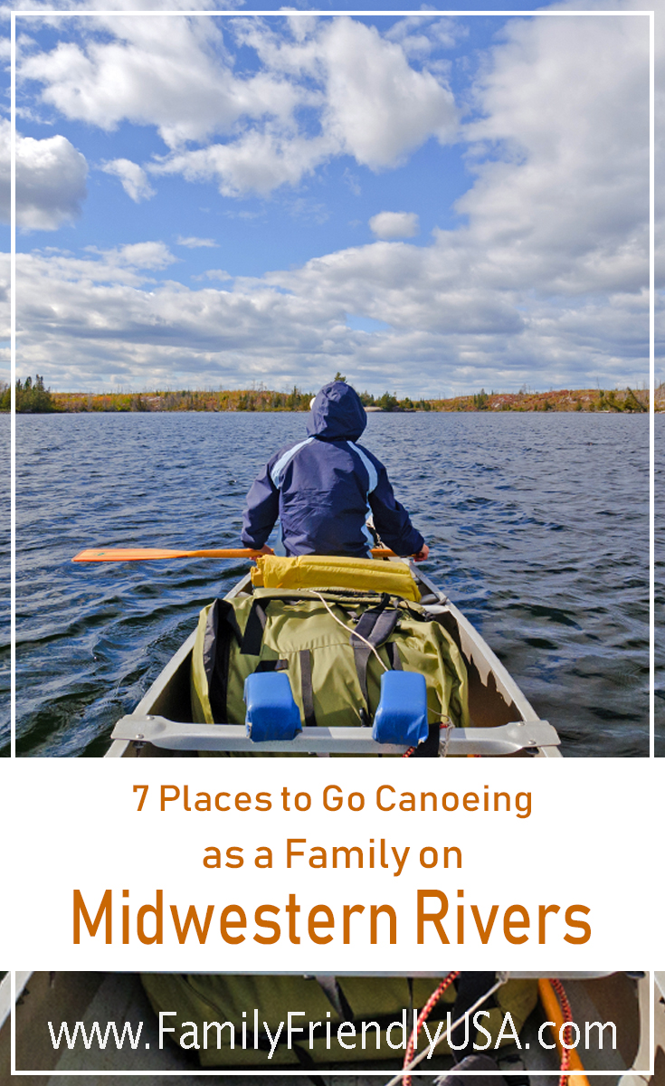 Canoeing is a fun, easy watersport that everyone can enjoy. Take your family on a fun adventure with this list of places to go canoeing in the Midwest.